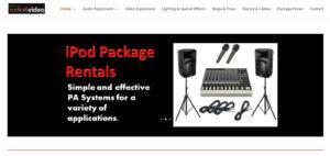 Inland Empire Audio Video Equipment Rentals