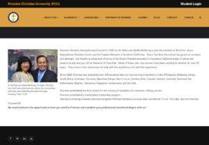 Promise Christian University (PCU)