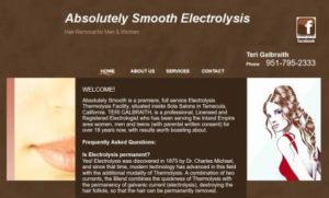 Absolutely Smooth Electrolysis