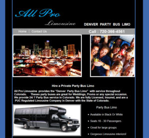 Denver Party Bus Limo
